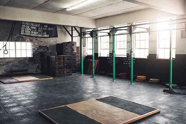 a fitness facility